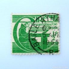 Sellos: SELLO POSTAL IRLANDA 1944 , 1/2 P , TRICENTENARIO DE LA MUERTE DE MICHAEL O'CLERY, USADO. Lote 233566345