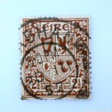 Sellos: SELLO POSTAL IRLANDA 1941 , 2 1/2 P , ESCUDO DE ARMAS, USADO. Lote 233699615