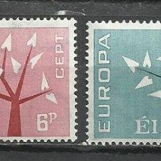 Sellos: Q616B-MNH** NUEVO SERIE COMPLETA IRLANDA EUROPA 1962 Nº 155/6. Lote 235439605
