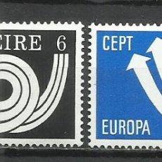 Sellos: Q616C-MNH** NUEVO SERIE COMPLETA IRLANDA EUROPA 1973 Nº 291/2. Lote 235440130