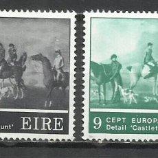 Sellos: Q616D-MNH** NUEVO SERIE COMPLETA IRLANDA EUROPA 1975 Nº 317/8. Lote 235441080