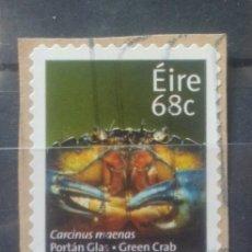 Timbres: IRLANDA CANGREJO SELLO USADO NO LAVABLE. Lote 237445580