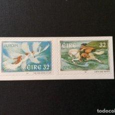 Sellos: IRLANDA Nº YVERT 1005/6*** AÑO 1997. EUROPA. CUENTOS Y LEYENDAS. AUTOADHESIVOS. Lote 238706530