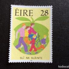 Sellos: IRLANDA Nº YVERT 787*** AÑO 1992. VIDA SANA. Lote 240553190