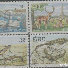 Timbres: LOTE G-SELLOS IRLANDA FAUNA. Lote 241232850