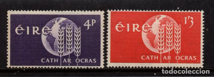 IRLANDA 157/58** - AÑO 1963 - CAMPAÑA MUNDIAL CONTRA EL HAMBRE (Sellos - Extranjero - Europa - Irlanda)