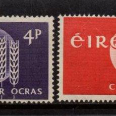 Sellos: IRLANDA 157/58** - AÑO 1963 - CAMPAÑA MUNDIAL CONTRA EL HAMBRE. Lote 261857535
