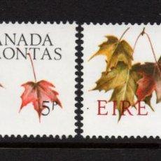 Sellos: IRLANDA 195/96** - AÑO 1967 - CENTENARIO DE LA CONFEDERACION DEL CANADA. Lote 242161105