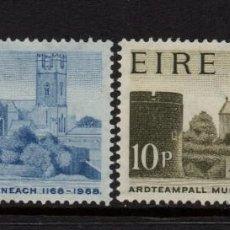 Sellos: IRLANDA 205/06** - AÑO 1968 - 8º CENTENARIO DE LA CATEDRAL DE SANTA MARIA, LUIMNEACH. Lote 242163115