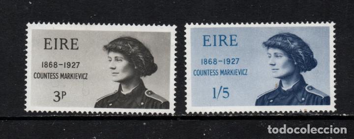 IRLANDA 209/10** - AÑO 1968 - CENTENARIO DEL NACIMIENTO DE LA CONDESA MARKIEVICZ (Sellos - Extranjero - Europa - Irlanda)