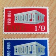Sellos: IRLANDA. 1969. YVERT 232/233. Lote 244514885