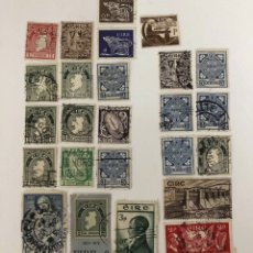 Sellos: 25 SELLOS ANTIGUOS DE IRLANDA/ 25 USED STAMPS FROM ÉIRE (266). Lote 245305605