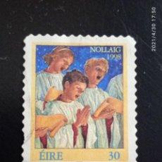 Sellos: IRLANDA 30, OLLAIG AÑO 1998.. Lote 262128845