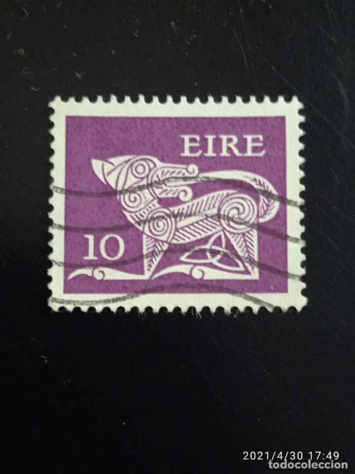 IRLANDA 10, ARTE CELTA AÑO 1922-95. (Sellos - Extranjero - Europa - Irlanda)