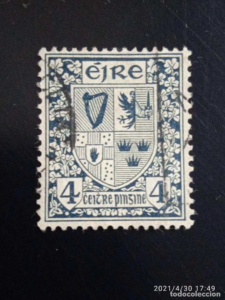 IRLANDA 4, ESCUDO ARMAS AÑO 1940. (Sellos - Extranjero - Europa - Irlanda)