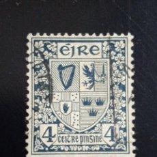 Sellos: IRLANDA 4, ESCUDO ARMAS AÑO 1940.. Lote 262779890