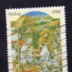 Sellos: IRLANDA, 1988, STAMP, MICHEL 666. Lote 264684699