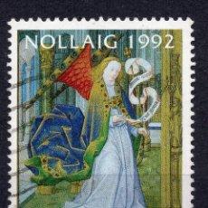 Sellos: IRLANDA, 1992, STAMP, MICHEL 812. Lote 264685434