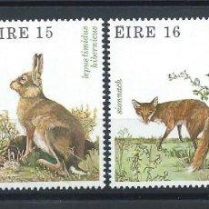Francobolli: IRLANDE N°424/27** (MNH) 1980 - FAUNE ET FLORE. Lote 266482283