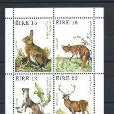 Francobolli: IRLANDE BLOC N°3** (MNH) 1980 - FAUNE ET FLORE. Lote 266483018