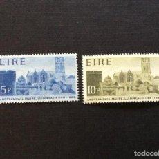 Sellos: IRLANDA Nº YVERT 205/6*** AÑO 1968. 8º CENTENARIO CATEDRAL DE SANTA MARIA, EN LIMERICK. Lote 266974514