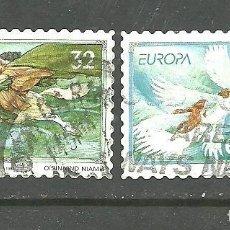 Sellos: IRLANDA 1997 - YVERT NRO. 1005-06 - USADO -. Lote 269251128