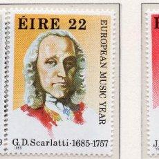 Sellos: IRLANDA, 1985 STAMP , MICHEL 565-567. Lote 269989848