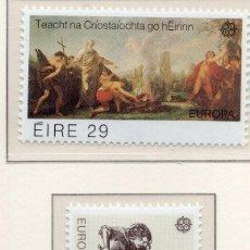 Sellos: IRLANDA, 1982 STAMP , MICHEL 466-467. Lote 269989938