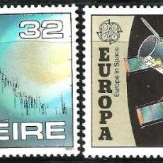 Sellos: EUROPA C.E.P.T. 1991 - EUROPA Y EL ESPACIO - IRLANDA. Lote 275622438