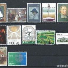 Sellos: IRLANDE LOT 12 TP NEUF** (MNH) 1978 - 81. Lote 287204108