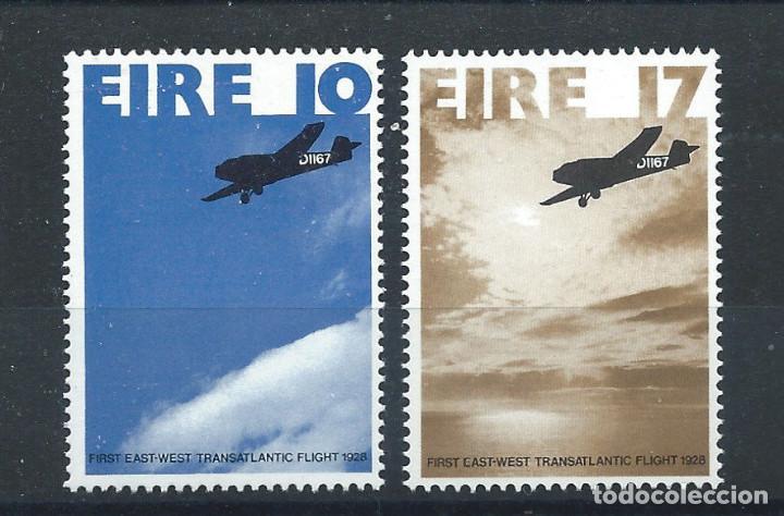 IRLANDE N°376/77** (MNH) 1978 - 1ER VOL TRANSATLANTIQUE EST-OUEST 1928 (Sellos - Extranjero - Europa - Irlanda)