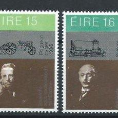 Sellos: IRLANDE N°436/39** (MNH) 1981 - SCIENCE ET TECHNOLOGIE. Lote 287214383