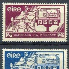 Sellos: IRLANDA 1937 IVERT 71/2 ** NUEVA CONSTITUCIÓN EN IRLANDA. Lote 289318378