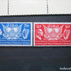 Sellos: IRLANDA 1939 CONSTITUCIÓN EEUU SERIE MNH SIN CHARNELA LUJO!!!. Lote 292223973