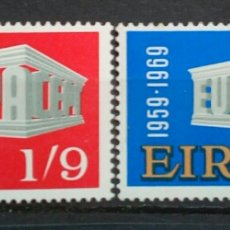 Sellos: IRLANDA TEMA EUROPA CEPT SERIE DE SELLOS NUEVOS. Lote 293325603