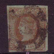 Sellos: ESPAÑA EDIFIL 67 - AÑO 1864 - ISABEL II. Lote 25916377