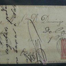 Sellos: ESPAÑA (1857) CARTA CIRCULADA DE CARDONA A ORS . Lote 26447152