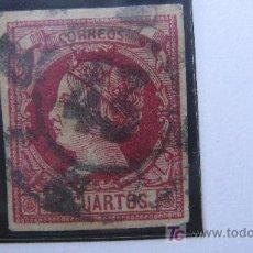 Sellos: 1860/61 ISABEL II EDIFIL 53. Lote 27596585