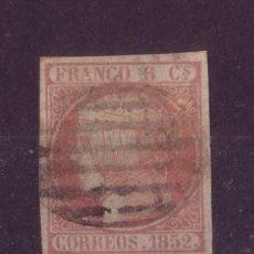 Sellos: ESPAÑA 12 - AÑO 1852 - ISABEL II. Lote 17456116