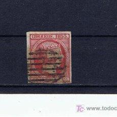 Sellos: ISABEL II 1853 ED 17 MATASELLO PARRILLA. Lote 19180069