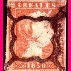 Sellos: 1850 ISABEL II, EDIFIL Nº 3 (O). Lote 20558159