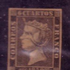 Sellos: ESPAÑA.- SELLO Nº 1 FALSO FILATELICO. . Lote 31609795