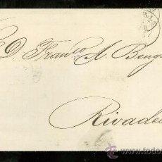 Sellos: CARTA DE SEVILLA A RIVADEO.. Lote 26063097