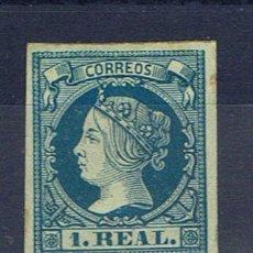 Sellos: ISABEL II 1860 EDIFIL 55 NUEVO(*) VALOR 2010 CATALOGO 360 EUROS . Lote 28369416