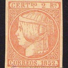 Sellos: ESPAÑA - FALSO. EDIFIL Nº 14F NUEVO. Lote 28584120
