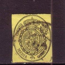 Sellos: ESPAÑA 35 - AÑO 1855 - ESCUDO DE ESPAÑA. Lote 29723282
