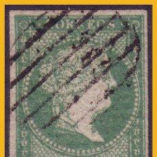 Sellos: 1855 ISABEL II, EDIFIL Nº 43 (O) LUJO. Lote 30412489