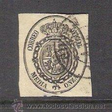 Sellos: 1855 ESPAÑA - ESCUDO DE ESPAÑA - USADO - EDIFIL 35. Lote 31039785