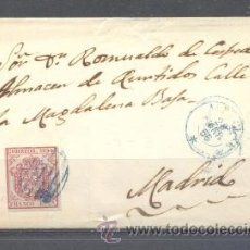 Sellos: 1855.- ALBACETE A MADRID. Lote 31663013