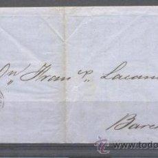 Sellos: 1862.- ADRA (ALMERIA) A BARCELONA. Lote 31668840